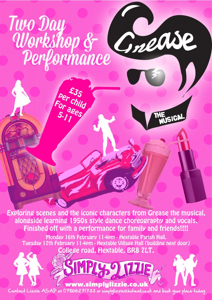 Grease The Musical Workshop