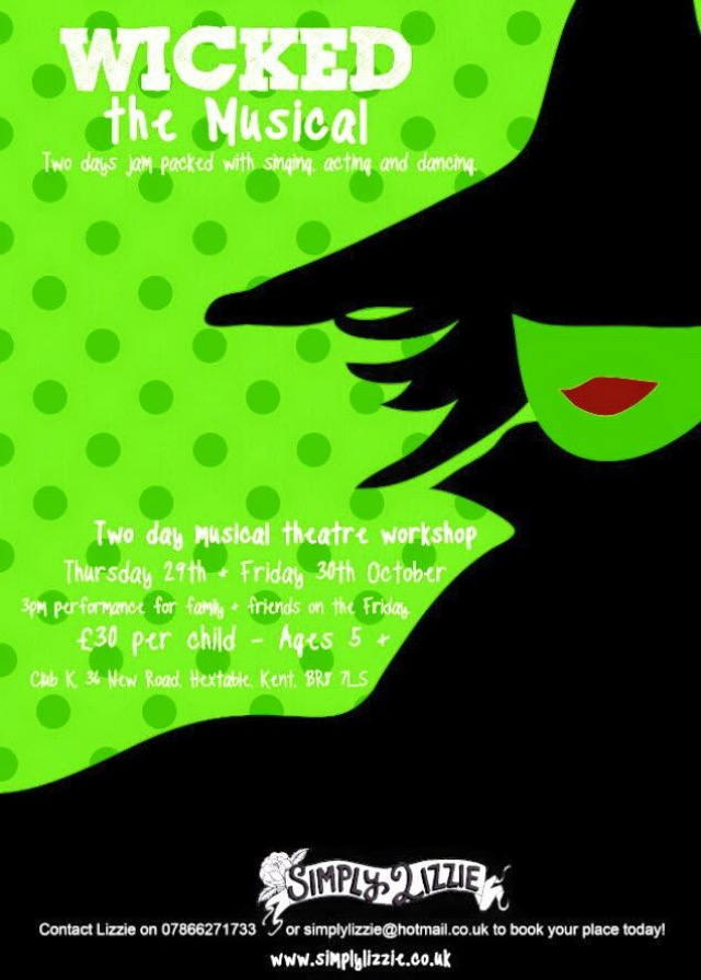 The musical WICKED Workshop