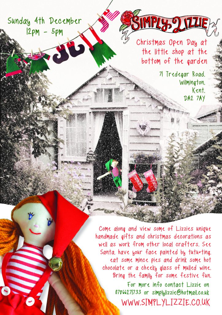 CHRISTMAS at The Little Shop at the Bottom of the Garden 2016