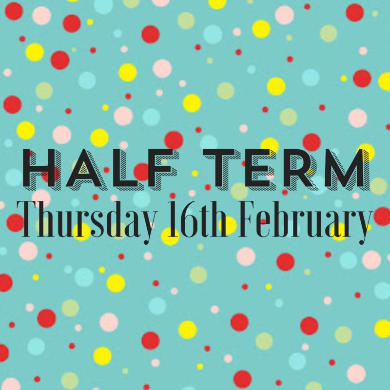HALF TERM – Toddle & Tone and NEW Team Tone Classes