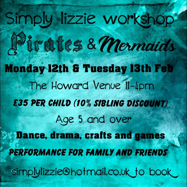 Pirates & Mermaids Two Day Workshop